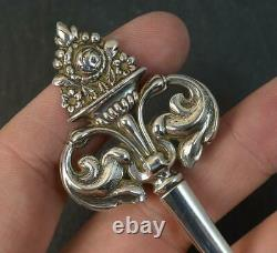 1842 Early Victorian Sterling Silver Fish or Poultry Skewer