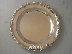 1845 Victorian Silver Heavy Gauge Huge Second Course Dish 775 grams superb item