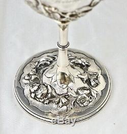 1867 Silver Somerset Rifle Volunteers Trophy Goblet. Sir Peregrine Acland Bt
