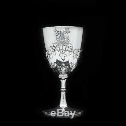 A Splendid Victorian Solid Silver Wine Goblet/Cup Richards & Brown 1869