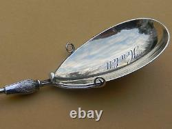 Aesthetic Sterling Serving Spoon Gorham Wire Wrapped Daisy 1880s