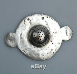 Antique 925 Solid Silver Fine Hanau Berthold Mueller Fairies Tea Strainer C. 1906