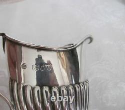 Antique English Victorian Sterling Silver Tea Set