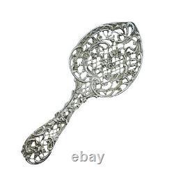 Antique Solid Silver Bonbon/Cake Spoon Victorian William Comyns 1892