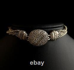 Antique Victorian Albertina, pocket watch chain, fob watch