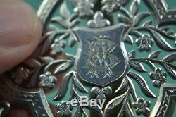 Antique Victorian Silver Chatelaine Lund 57 Cornhill London Jane Brownett 1879