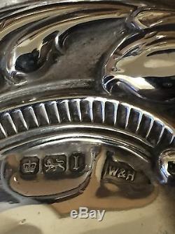 Antique Victorian Solid Silver Part Vanity Set #GA