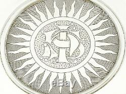 Antique Victorian Sterling Silver Communion Set