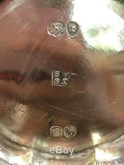 Antique Victorian Sterling Silver Mug Dated 1849