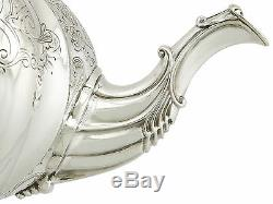 Antique Victorian Sterling Silver Teapot