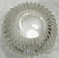 Atq Victorian F & B Repousse Sterling Silver Trinket Dresser Jar Powder Dish