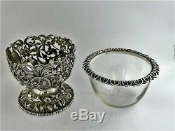 Beautiful SILVER mounted ARMORIAL BOWL, London 1839 Reily & Storer Coat-of-Arms