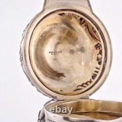 Boin Taburet Antique French Sterling Silver Wine Liquor Ewer Pitcher Decanter Jm