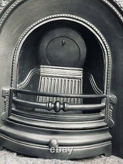 Cast Iron Fireplace / Fire Surround / Insert / Victorian Style / Solid Fuel/ Gas