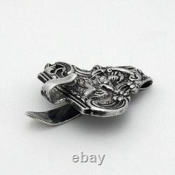 Chatelaine Belt Clip Hook Gorham Sterling Silver