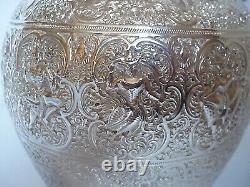 Claret Jug Victorian Sterling Silver Glasgow 1890