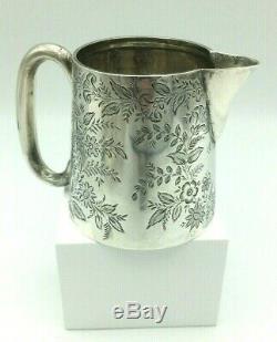 Fine Silver Victorian Creamer Jug Birmingham Henry Williamson 1897 83 grams 7cm