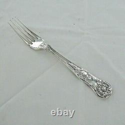 Good Sterling Silver Set Of Six Kings Pattern Dessert Forks London 1853