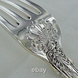 Good Sterling Silver Set Of Six Kings Pattern Dinner Forks London 1853