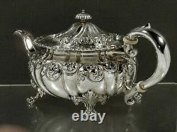 Howard Sterling Tea Set 1892 MUSEUM NYC