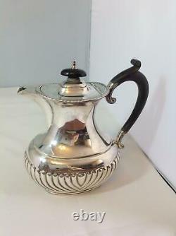 Late Victorian Hallmarked Silver Teapot 1900/1901