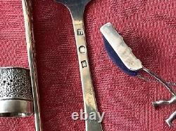 Outstanding Heavy Collection Of Silver Items, 243 Gms, Victorian. Not Scrap