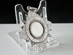 RARE William Robb Kincardine O'Neil Silver Medal, Lumphanan Games, Provincial