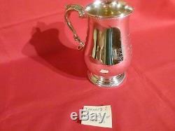 Rare 1871 James & Josiah Williams Exeter Huge Silver, 1& 1/4 Pint Tankard. Lot 2