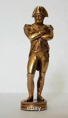 Rare Fine Quality Victorian Gilt Bronze Napoleon I Sealing Wax Desk Seal