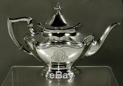 Reed & Barton Sterling Tea Set c1950 52 Ounces