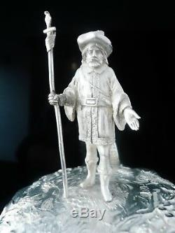 Silver Tankard, Glasgow 1880, George Edward & Sons, Barry Sullivan (Actor)