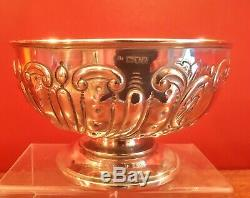 Solid Silver Fruit Bowl by Charles Edwards hallmarked London 1901