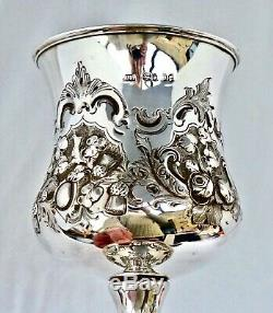 Solid Silver Mounted Swordsman Trophy. Montgomeryshire Yeomanry Cavalry 1869