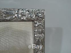 Stieff Frame Picture Photo Antique Repousse American Sterling Silver 1927