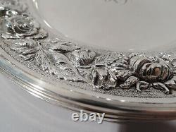 Stieff Plates 525 Set 4 Baltimore Bread Butter American Sterling Silver