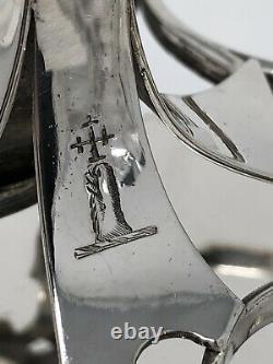 Stunning sterling silver Victorian Cruet Set