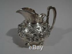 Tiffany Bird's Nest Coffee Tea Set 1375 1875 2275 2325 Sterling Silver