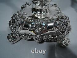 Tiffany Candelabra 12249 Antique Candlesticks American Sterling Silver