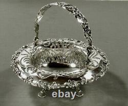 Tiffany Sterling Sugar Basket Bowl c1910 VICTORIAN