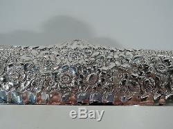 Tiffany Tray 5140 Antique Victorian Repousse American Sterling Silver