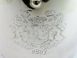 Very Rare SILVER ARGYLE by Garrards, London 1885 Duke of Portland Coat-of-Arms