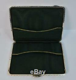 Victorian Chester Silver Ribbed Purse or Calling Card Case