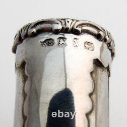 Victorian Double Scissors Chatelaine Case Levi Salaman Sterling Silver 1897