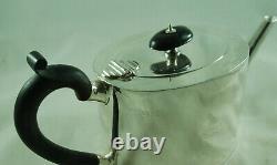 Victorian Silver Batchelors Teapot Barnabus Blackburn London 1882 280g AEZX