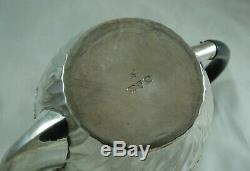 Victorian Silver Batchelors Teapot Nathan & Hayes Chester 1895 386g BZX