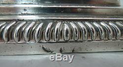 Victorian Silver Candlesticks Mappin & Webb Sheffield 1897 23.5cm A617817
