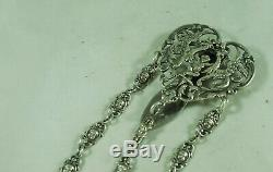Victorian Silver Chatelaine William Comyns London 1896 ACZX006