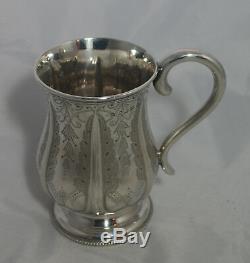 Victorian Silver Christening Mug Hilliard & Thomas Birmingham 1885 110g A602017