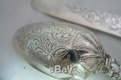 Victorian Silver Christening Set J Gilbert Birmingham 1858/9 A602017