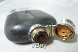 Victorian Silver & Glass Hip Flask James Dixon & Sons Sheffield 1888 A634917